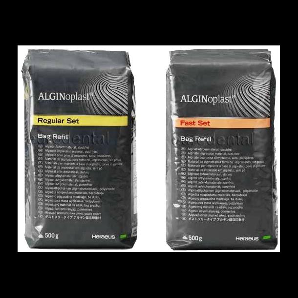 Alginoplast. Støvfri alginat