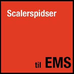 Scalerspidser til EMS Piezon