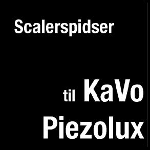 Scalerspidser til Kavo SonoSoft og Kavo Piezolux