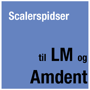 Scalerspidser til LM og Amdent