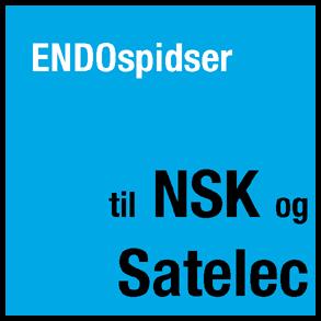 Endospidser til Satelec og NSK- scalere