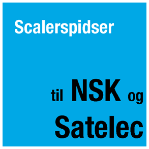 Scalerspidser til NSK og Satelec scalere