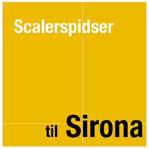 Scalerspidser til Sirona