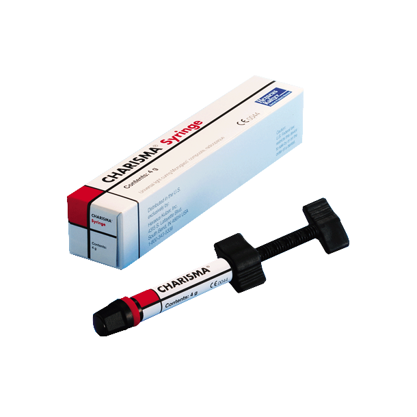 Charisma i sprøjte. Microglass Universal Hybridkomposit.