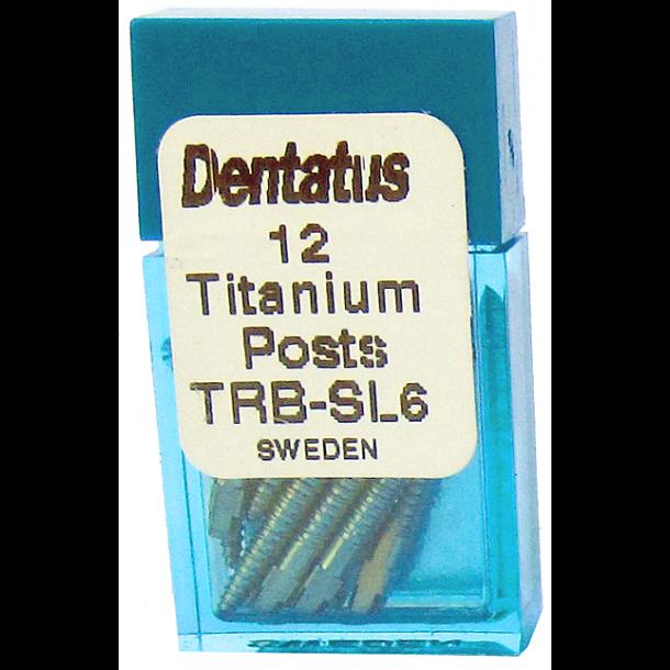 Dentatus Titaniumstifter SL6. Superlang