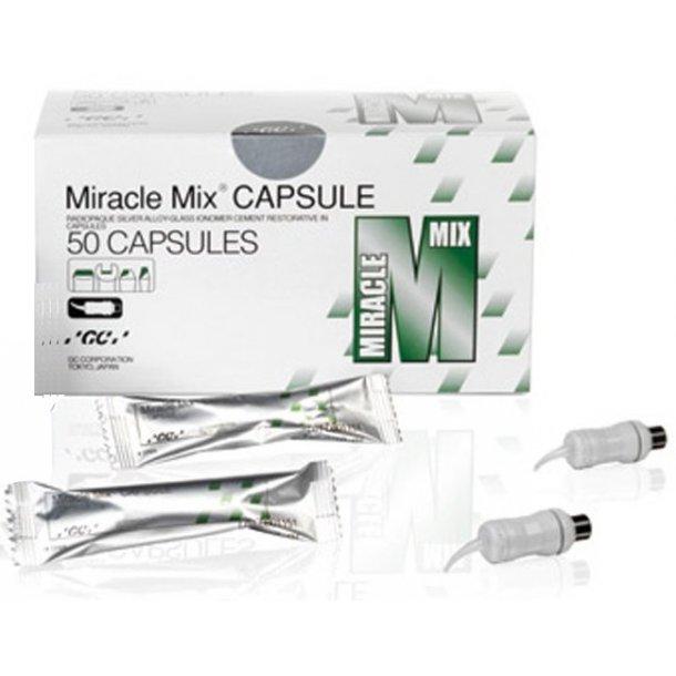 Miracle Mix i kapsler. Sølvforstærket glasionomer fyldningsmateriale