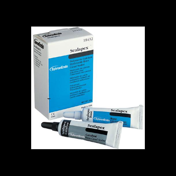 Kerr Sealapex. Radiopaque rodkanalsealer med kalciumhydroxid