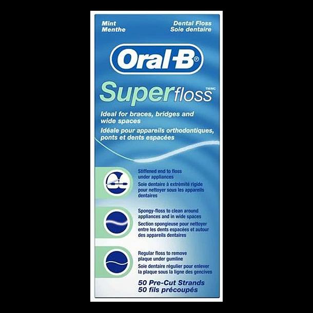 Superfloss tandtråd til implantater